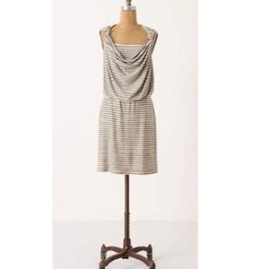 Anthro made in San Francisco stripped dress